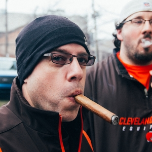 Cigar Man Jaworski Meats Social Events Cleveland Browns Tailgate Parties